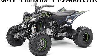 10. 2017 Yamaha YFZ450R SE : Bodywork is designed for great ergonomics