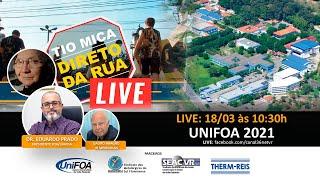 TIO MICA recebe o DR. EDUARDO PRADO, presidente da FOA/UNIFOA