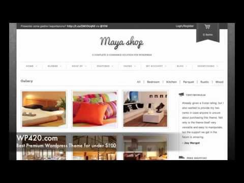 MayaShop eCommerce WordPress Theme Demo