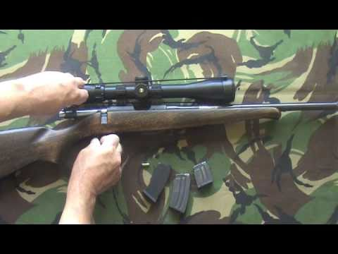 CZ 452 ZKM 2E .22 RIMFIRE RIFLE FOR TARGET SHOOTING VERMIN PEST CONTROL