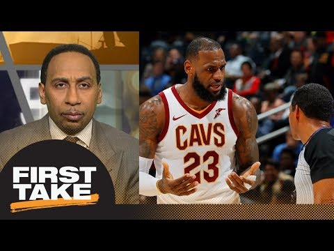 Stephen A. Smith on LeBron James complaining about refs: It's not legitimate | First Take | ESPN