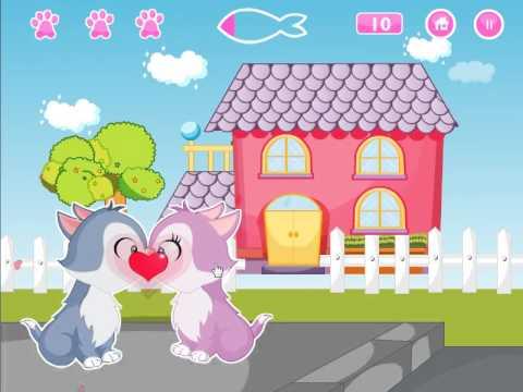 Video of Kissing Game-Kitten Love Fun