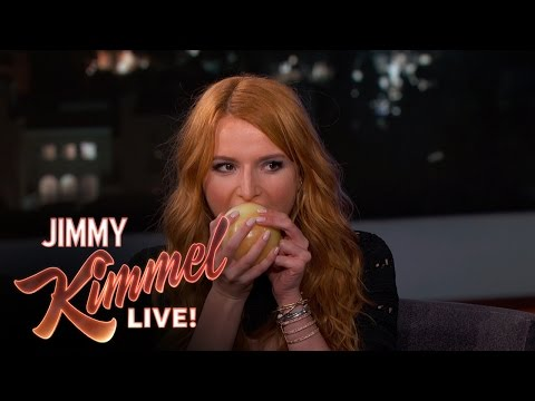 Bella Thorne Eats an Onion