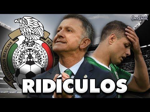 LOS PEORES RIDÍCULOS DE LA SELECCIÓN MEXICANA