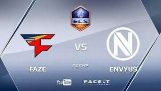 Faze vs EnVyUs, cache, ECS Season 4 Europe