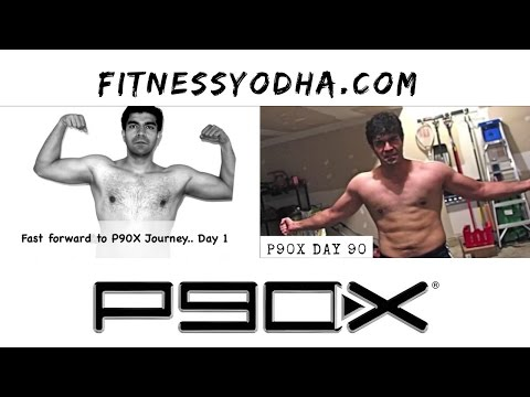 Vivek's P90X Transformation | FITNESSYODHA.COM