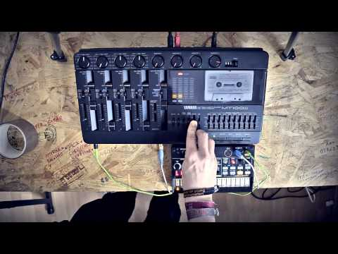 Tape to CV sync | Yamaha MT100 | Korg Volca Beats