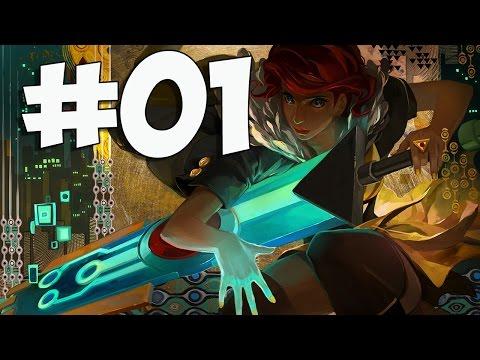 Transistor: Просто прохождение отличной игры #01