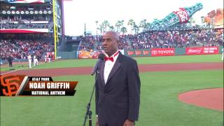 National Anthem following Peavey Ceremony 2016