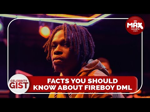 EXCLUSIVE: Fireboy DML says it all