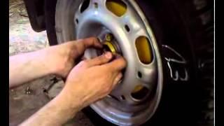 Регулировка подшипников задних ступиц VW Passat B3.mp4