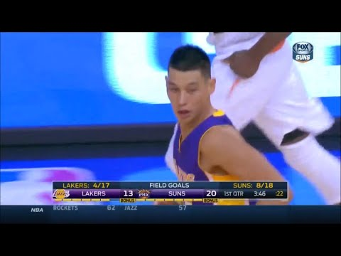 jeremy - LIN: 6 PTS (2/5) | 2 REB | 1 AST 21 MPG | 2/2 FT | 2 TO | 0 F | (0/2) 3P 2014-15 Season: Game 2 score: 119-99 record: 0-2 loss Jeremy Lin 6 points, 2 rebounds, 1 assist versus Phoenix...