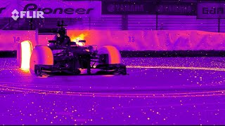 Red Bull Racing's RB8 Tearing It Up In Infrared - Awesome!