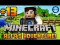 "Minecraft - Ali-A's Adventure #13! - ""PROTECTING THE HOUSE!"""
