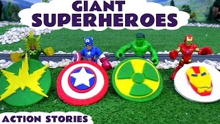 Giant Superheroes