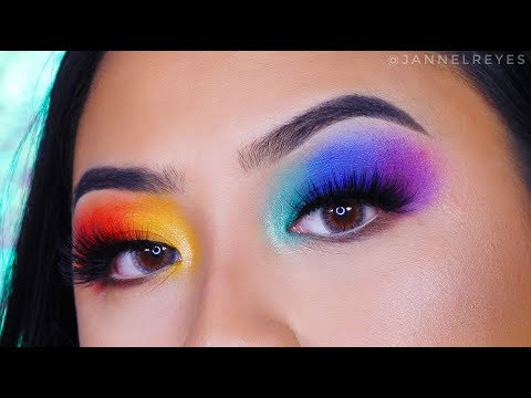 RAINBOW MAKEUP TUTORIAL | Support and Donate to LGBT Organizations