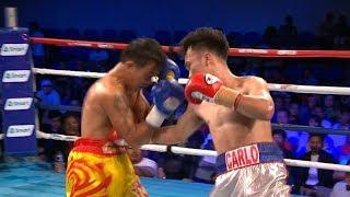 Carlo Peñalosa vs. Watana Phenbaan   ESPN5 Boxing