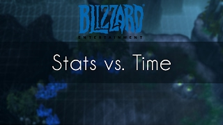 Stats vs. Time - PvT - Map Contest Tournament, Blizzard Entertainment, World of Warcraft