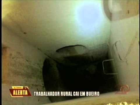Trabalhador rural cai em bueiro em Carmo de Minas