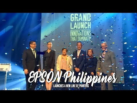 Lifestyle Chronicles : EPSON PH Launches New Line of Printers