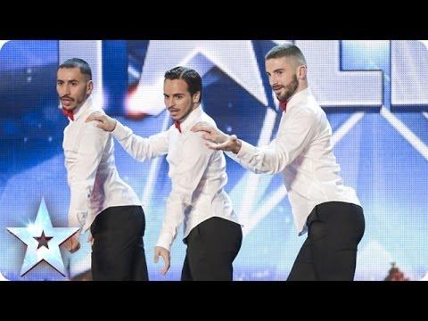 Yanis Marshall, Arnaud & Mehdi's spicy high-heeled moves | Britain's Got Talent 2014
