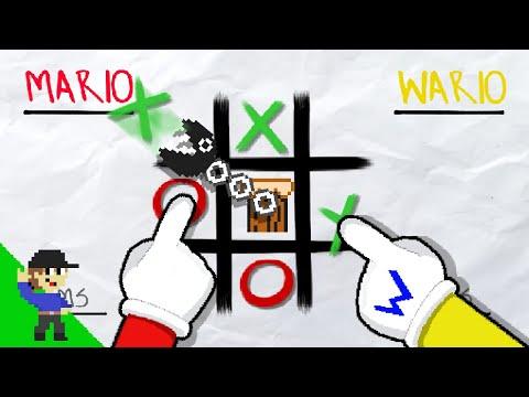 Level UP: If Tic-Tac-Toe had Super Mario Physics