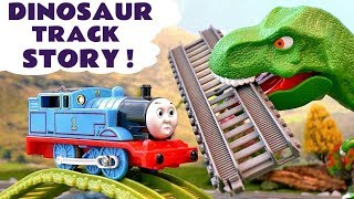 Video Thomas & Friends Train Toys Dinosaur Prank - Toy Trains scary Story for kids  with Tom Moss TT4U MP3, 3GP, MP4, WEBM, AVI, FLV Juli 2017