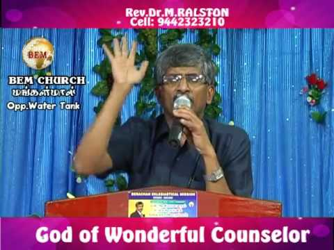 God Of Wonderful Counselor part 1