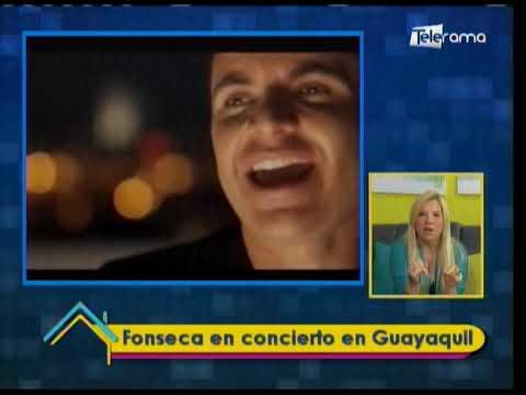 Fonseca en concierto en Guayaquil