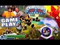 Lets Play Skylanders Trap Team: Grinnade & Krypt King w/ Fire Torch Trap - Sewers of Supreme Stink