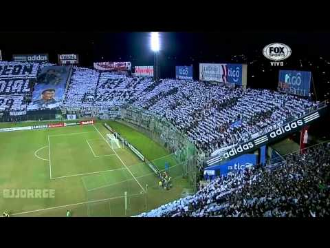 [HD] Recibimiento y Mosaico de Olimpia vs. Independiente Santa Fe. Fox Sports Sur. 02/07/2013 - La Barra del Olimpia - Olimpia