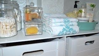 Bathroom Organization: Under The Sink
