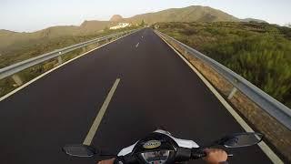 10. South Tenerife, Kymco Agility 125cc, GoPro (helmet mount)