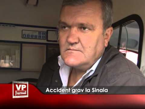 Accident grav la Sinaia