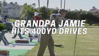 Video Grandpa Jamie Hits 400yd Drives MP3, 3GP, MP4, WEBM, AVI, FLV Januari 2019