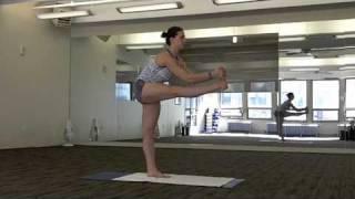 Asana 5 – Dandayamana-Janushirasana (Standing Head To Knee Pose)
