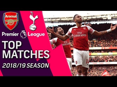 Arsenal V. Tottenham | Premier League's Top Matches Of 2018-2019 | 12/02/18 | NBC Sports