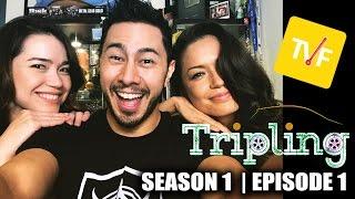 Video TVF TRIPLING EPISODE 1 | Reaction by Jaby, Achara & Joli! MP3, 3GP, MP4, WEBM, AVI, FLV Januari 2018