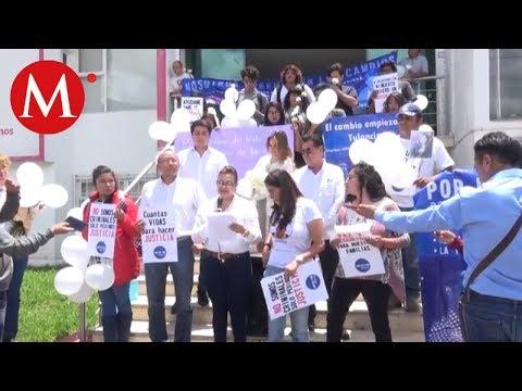 Activistas exigen la creación de un sistema estatal de víctimas en hidalgo