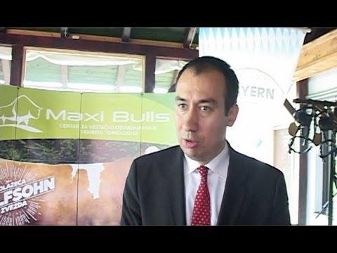 """Mr Vuk Radojević na otvaranju Centra za veštačko osemenjavanje i embriotehnologiju """"Maxi bulls"""""""