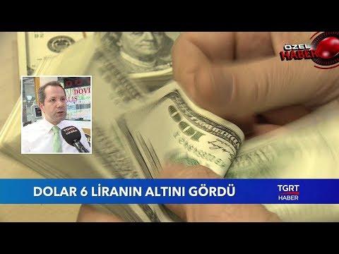 Dolar 6 Liranın Altına Düştü (видео)