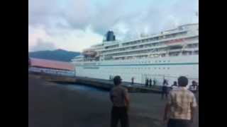 Bitung Indonesia  city photos : Farewell to MS.Amadea@Bitung city Indonesia