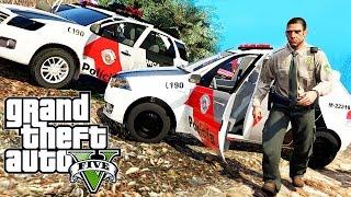 GTA 5 Policia - MOD Policia - Gangue de Armas ► Mais Vídeos da Série: https://goo.gl/8JR9dZ (Episódio 12) ► Instagram - https://www.instagram.com/DuduMouraEx...