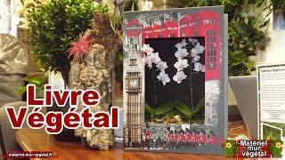 Livre Végétal pour décoration florale