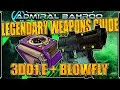 """Borderlands The Pre-Sequel: The """"3DDI.E and Blowfly"""" - Legendary Weapons Guide"""