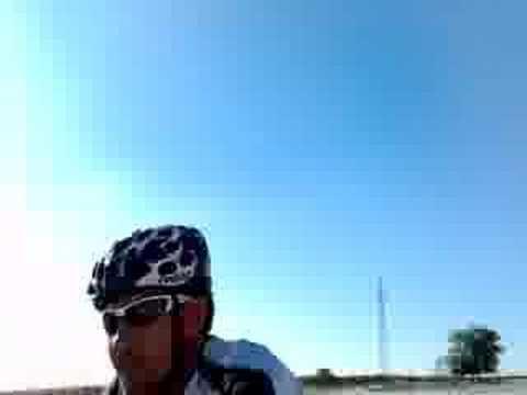 Por el carril bici de San Martin de la Vega