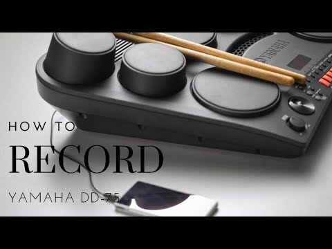 How To Record Yamaha Dd75 On Your Phone / Ios Device