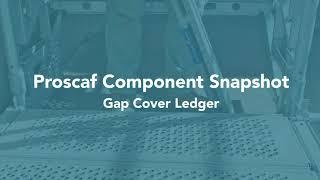 Proscaf Component Series - Gap Cover Ledger