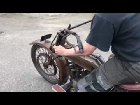 Motosacoche Test Bike 110: 600cc Touring 1920-21 Complete Original!!!.
