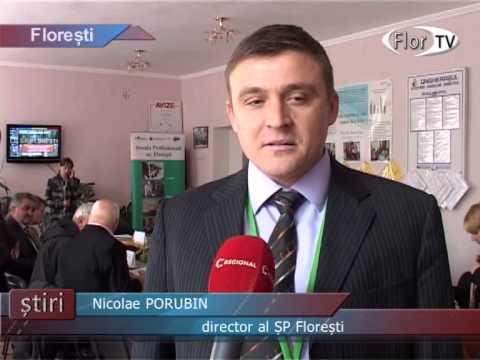 Masă rotundă la Școla Profesională din orașul Florești